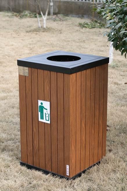 仿木环保垃圾桶|仿木分类垃圾桶|木纹膜|仿木铝型材