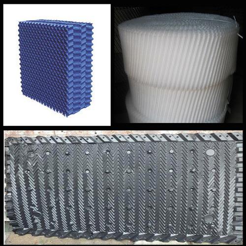 产品主要包括   阻燃冷却塔填料,斜交错冷却塔填料,pvc蜂窝冷却塔填料
