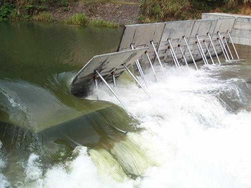 液压坝 橡皮坝 拦水坝 翻板坝
