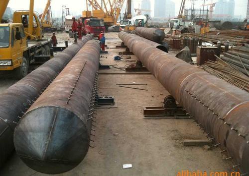 钢结构  产品名称 :钢支墩,钢护筒,钢管桩 用途分类:钢结构钢支墩