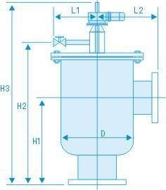 自清洗过滤器(立式刷式)