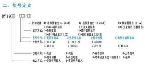 杭州DY194DY195系列智能数显变送表