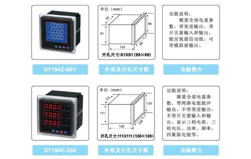 杭州代越多功能网络电力仪表
