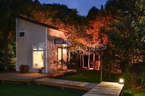 预制木结构房屋 移动单身公寓_co土木在线