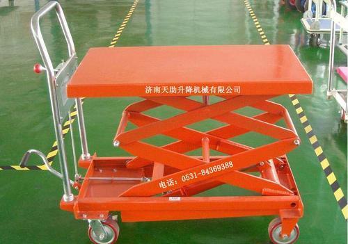 供应升降机液压升降货梯升降小推车图片