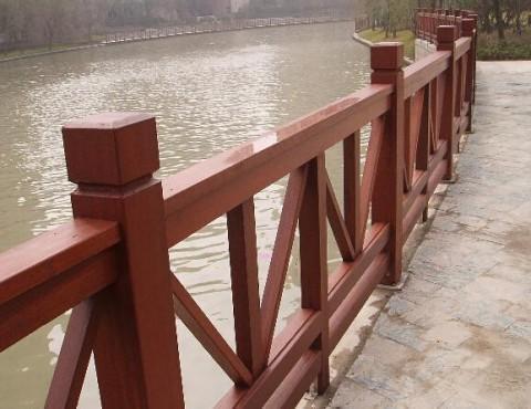 青岛景观木栅栏,木围栏,木护栏