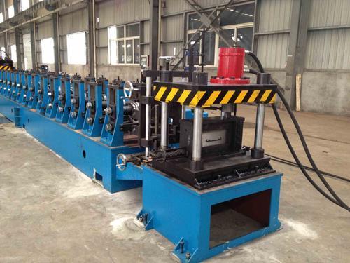 供应梯边式电缆桥架型材生产线全自动成型设备