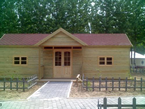 防腐木木房子,防腐木阳光房设计施工