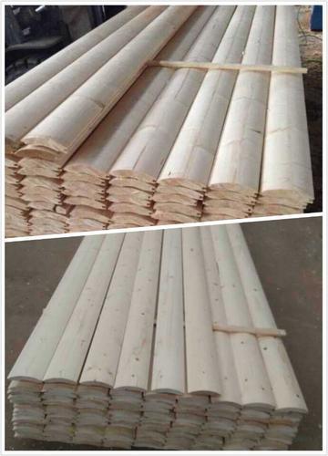 墙体材料 板材 其他板材  外墙圆弧挂板可广泛用于木屋,木别墅,木结构
