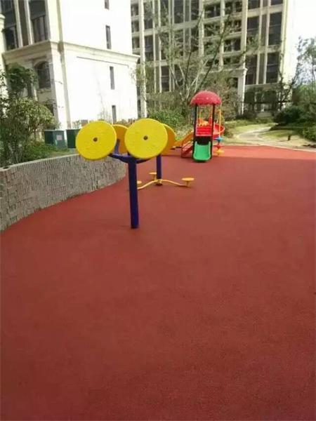 塑胶地砖,小区健身运动塑胶场地