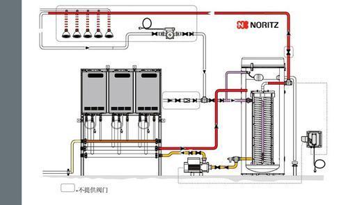 燃气壁挂采暖炉 商用热水器 供热供暖两用热水器
