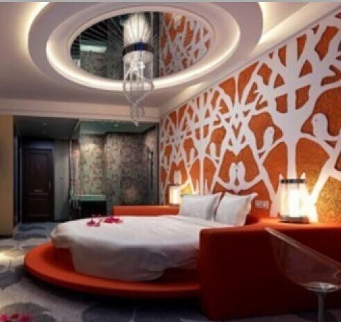 上海情趣主题酒店装修效果图设计公司