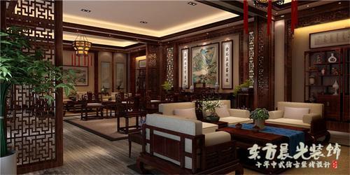 中式室内装修效果图设计图片