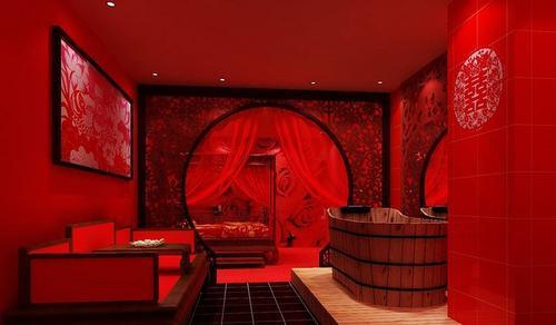 上海艾森情趣主题酒店效果图设计 装修公司作品