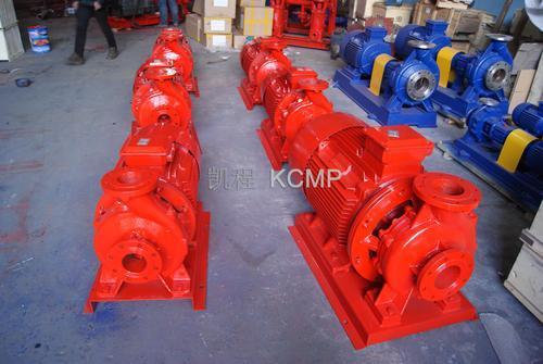 瓯北XBD1.25/3.5-50W型卧式管道消防泵