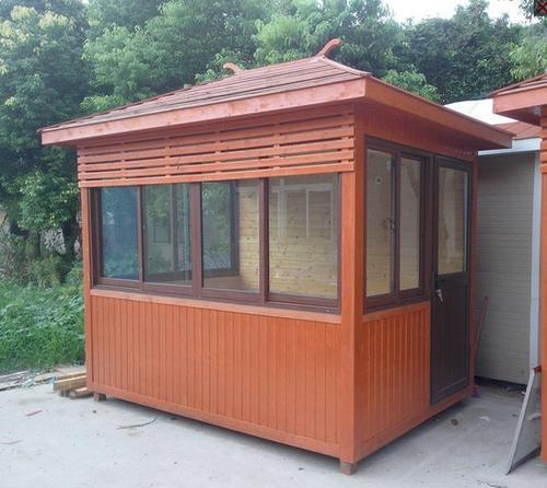 木质岗亭,防腐木岗亭,耐用实木岗亭