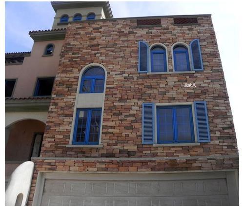青山石别墅外墙文化石室外背景墙瓷砖4007