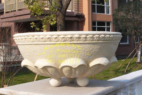 现代花盆,欧式花盆,真石漆花盆