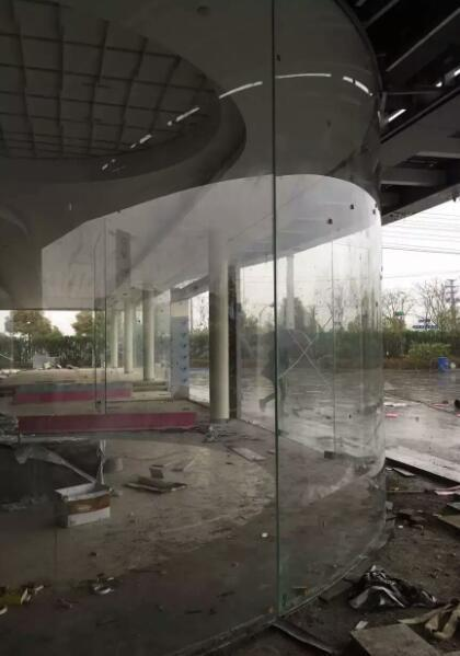 鹤壁15毫米19毫米汽车展厅吊挂玻璃