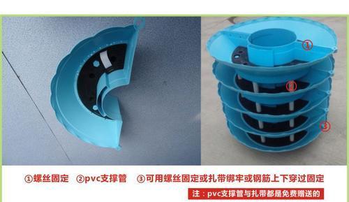 厂家直销立体垂直花柱组合包灯杆绿化半圆形蓄水花盆