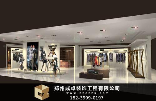 不同风格的郑州服装店面装修全攻略