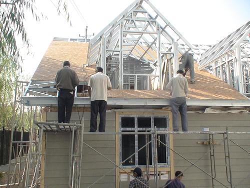 装配轻钢结构建筑抗震抗风集成别墅农村住宅
