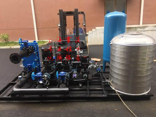 上海霍茨 板式换热器机组图片
