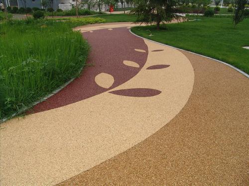 陕西安康强固透水混凝土 彩色艺术混凝土铺装的必要性