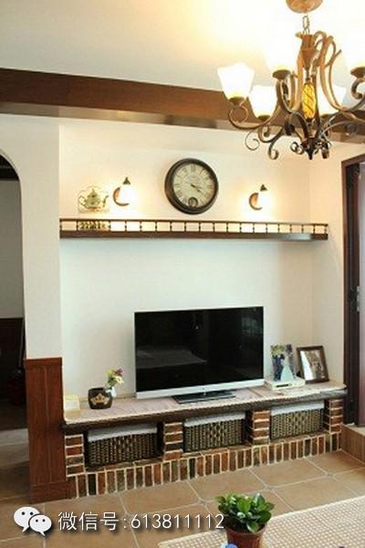 设计施工 建筑施工 建筑装修装饰     这款,美式风格家砖砌壁炉造型.