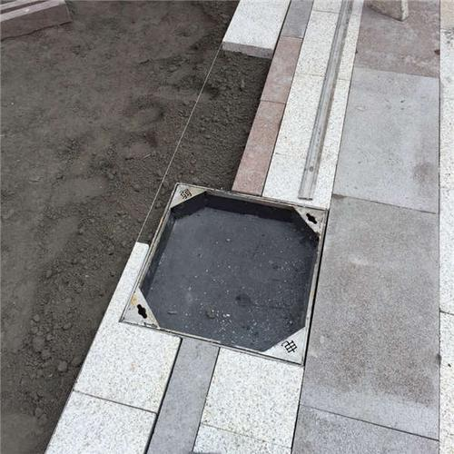 天津井盖批发天津不锈钢隐形井盖规格定做 装饰井盖_CO土木在线