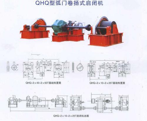 QHQ弧门卷扬式启闭机
