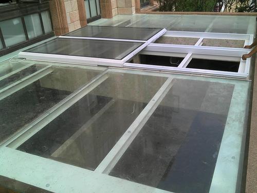 智能屋面天窗自动屋顶上悬平移窗