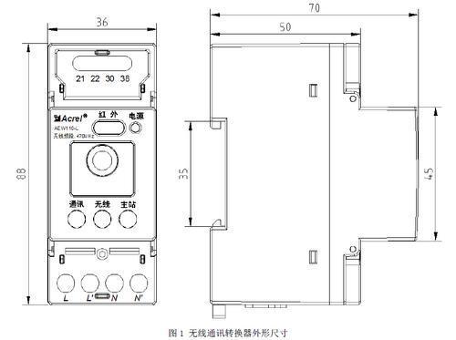其他低压配电装置及低压电器     aew110 系列无线通讯转换器主要用于