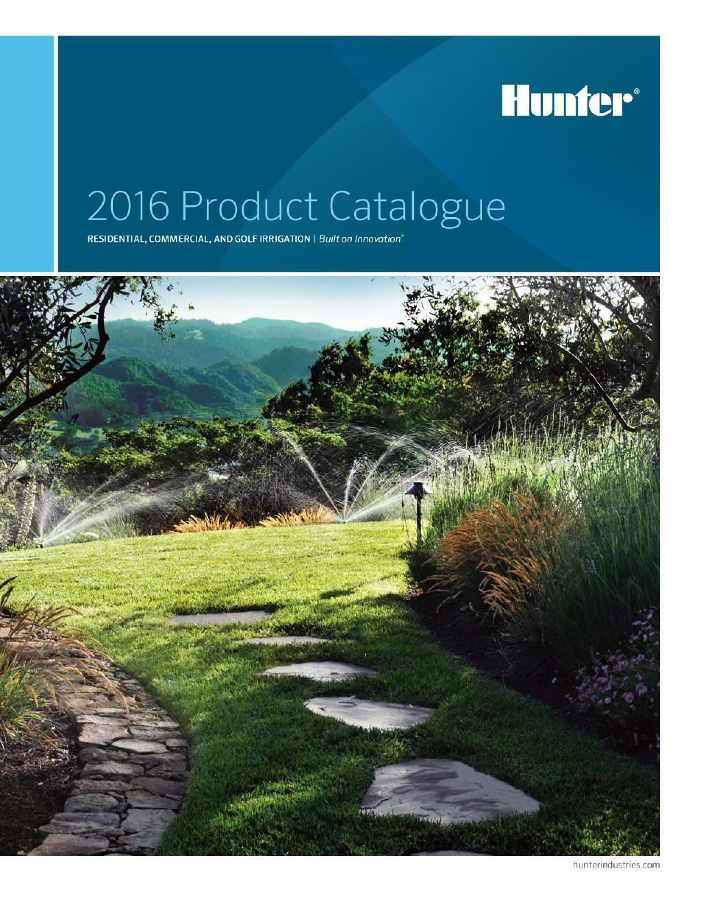 Hunter 2016 Product Catalogue