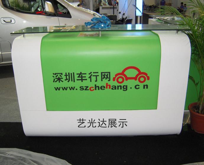 深圳汽车用品展柜制作价格优惠高清图片