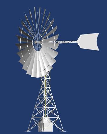 全国设计施工风力提水风车收藏