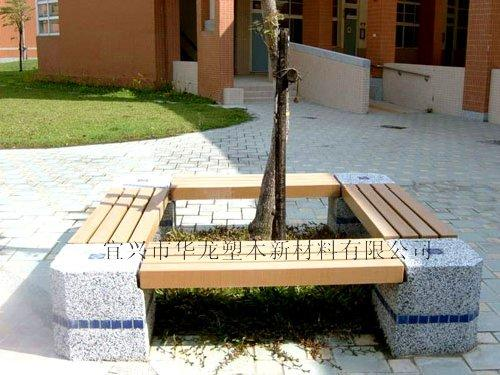 方形树池手绘效果图