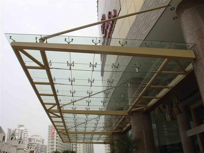 管桁架,幕墙工程,钢结构电梯井道工程,钢结构雨篷工程及户外广告牌
