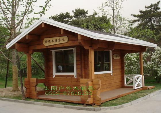 青岛木屋,木亭,售卖亭,木制别墅