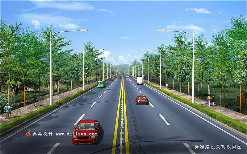 道路桥梁效果图