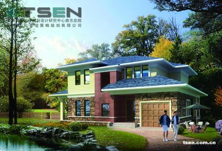 房地产景观规划设计建筑设计公司别墅设计庭院设计