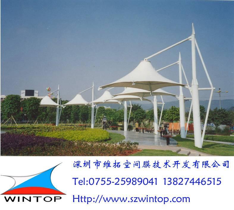 绿荫连廊膜结构