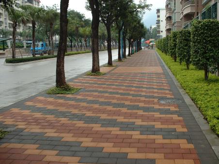 ps景观透水砖地面铺装素材