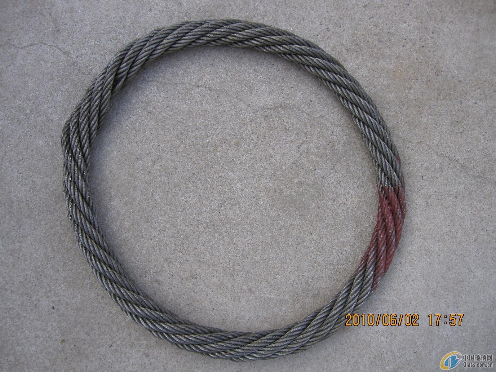 无接头钢丝绳索具(ZS0204)详细介绍:   无接头钢丝绳索具厂家介绍 江苏正申索具有限公司是集研制、开发、生产为一体的专业生产厂家,主要产品有各种规格型号钢丝绳、钢丝绳索具、尼龙绳吊索具、特种纤维柔性吊装带系列、扁平吊带系列、安全网系列、安全带系列、起重链条系列、横梁吊具系列、冶金夹具系列以及三动工具系列。产品广泛应用于冶金、机械、铁道、石化、港口、电力、汽车、航空、建筑等领域。 公司技术力量雄厚,工艺先进,检测设施齐全,质量保证体系过硬。产品由中国人民财产保险股份有限公司承担产品质量责任保险,获得了