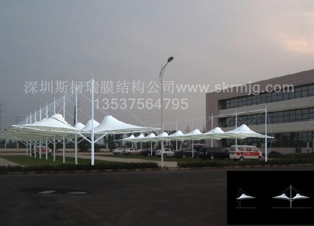 飞机场膜结构,火车站膜结构