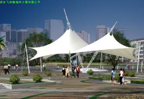 湖北景观膜结构,武汉膜结构公司,沌口游泳池膜结构