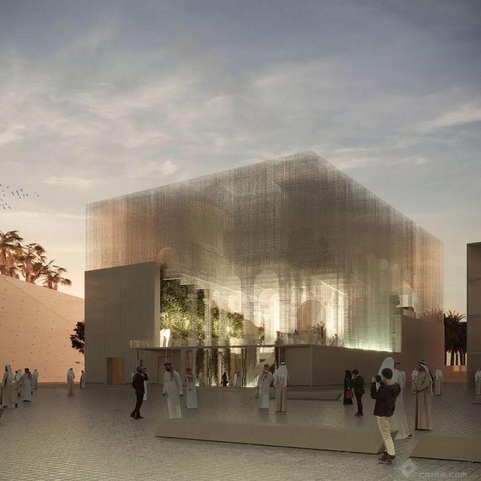 看不見的建筑,2020年迪拜世博會意大利館