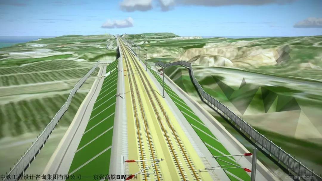 中铁设计采用 Bentley BIM 解决方案 设计智能化的京张高铁_土木资料网