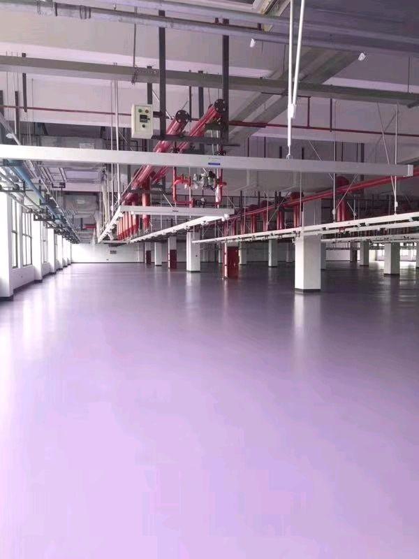 济南木源科技有限公司车间地坪项目