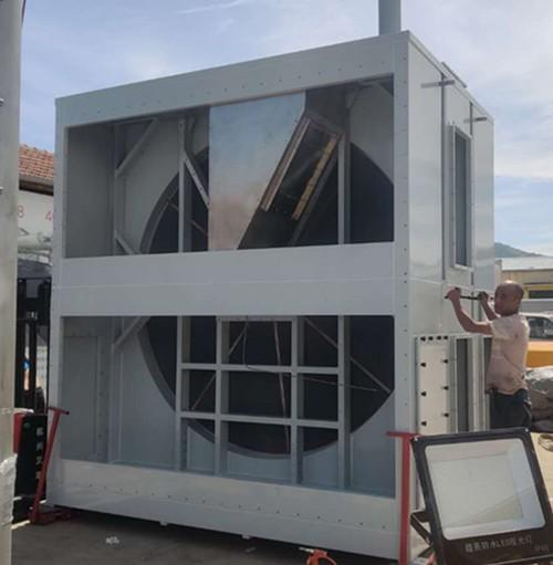 滚涂线废气治理技术升级改造